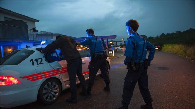 Anfang Februar 2018 verhaftete die Aargauer Kantonspolizei drei mutmassliche Kriminaltouristen. (Symbolbild)