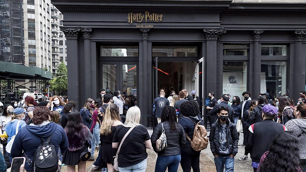 So sieht der grösste Harry-Potter-Laden der Welt aus