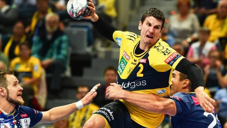 Spielt im August in Basel: der Schweizer Handballer Andy Schmid