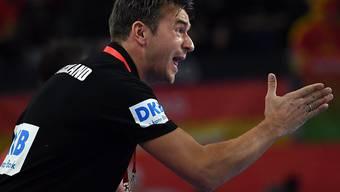 Deutschlands Coach Christian Prokop brauchte viel Nerven
