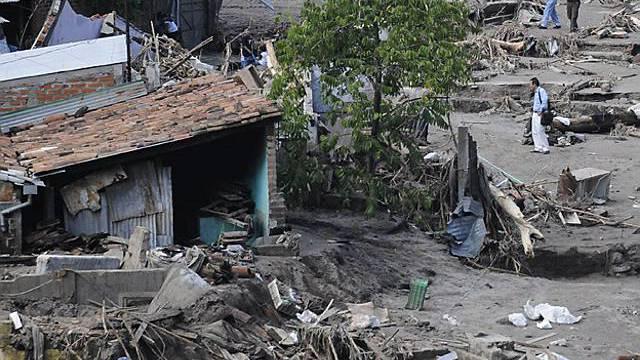 Zerstörung nach einem Sturm in El Salvador (Archiv)
