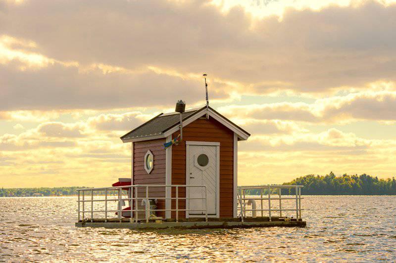 Hier schwankt es ab und zu sicher: das Utter Inn in Schweden (Bild: visitvasteras.se).