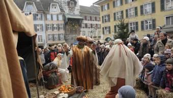 Weihnachtsreise in der Solothurner Altstadt