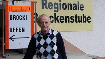 Hanspeter Lüscher hat seine «Regionale Brockenstube» an der Aarauerstrasse 44 geräumt.