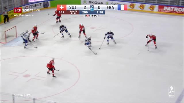 Eishockey-WM: Die Schweiz erreicht das Viertelfinale