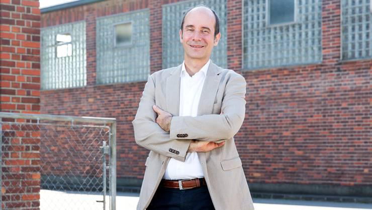 «Ich bin im damaligen Schlachthof aufgewachsen», sagt Werner Schib am Ort seiner Kindheit.