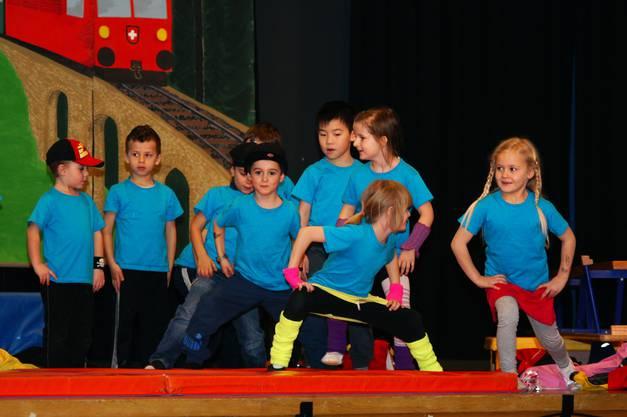 Gruppe Kinderturnen Raege Raege Troepfli