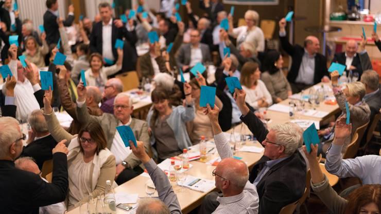 Die Freisinnigen machen ihrem Präsidenten Matthias Jauslin kein Geschenk zum Abschied – und sagen klar mit 110 zu 16 Stimmen Nein zur Energiestrategie.