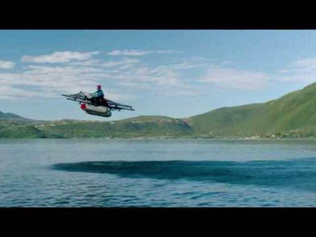 Der «Kitty Hawk Flyer» in Aktion.