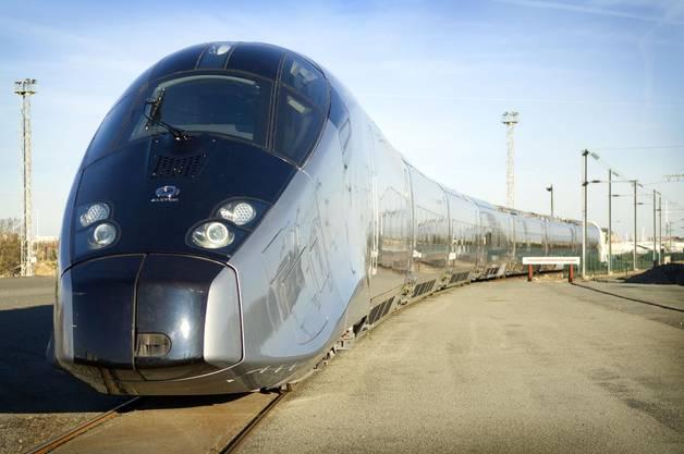 Auch im Ausland tätigt die Alstom im Bahnwesen grössere Investitionen, wie zum Beispiel in Frankreich...