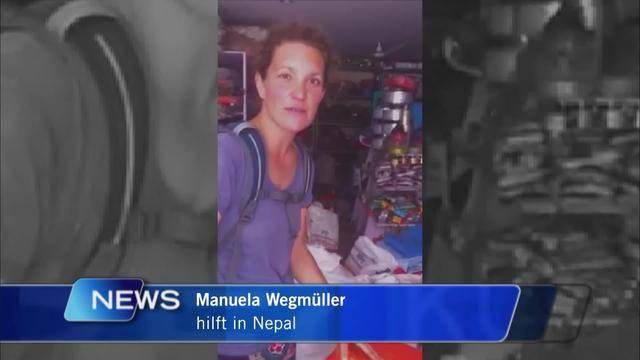 Bernerin hilft in Nepal