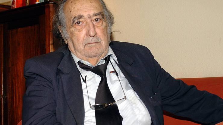 Der spanische Schriftsteller Rafael Sanchez Ferlosio ist am Montag im Alter von 91 Jahren in Madrid verstorben. (Archivbild)