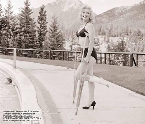 So hat man Marilyn Monroe noch nie gesehen