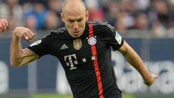 Bayerns Arjen Robben avancierte kurz vor Schluss zum Matchwinner