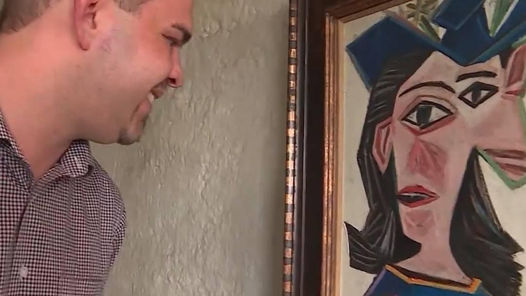 Wettingen: Warum ein Picasso über dem Futtertrog hängt