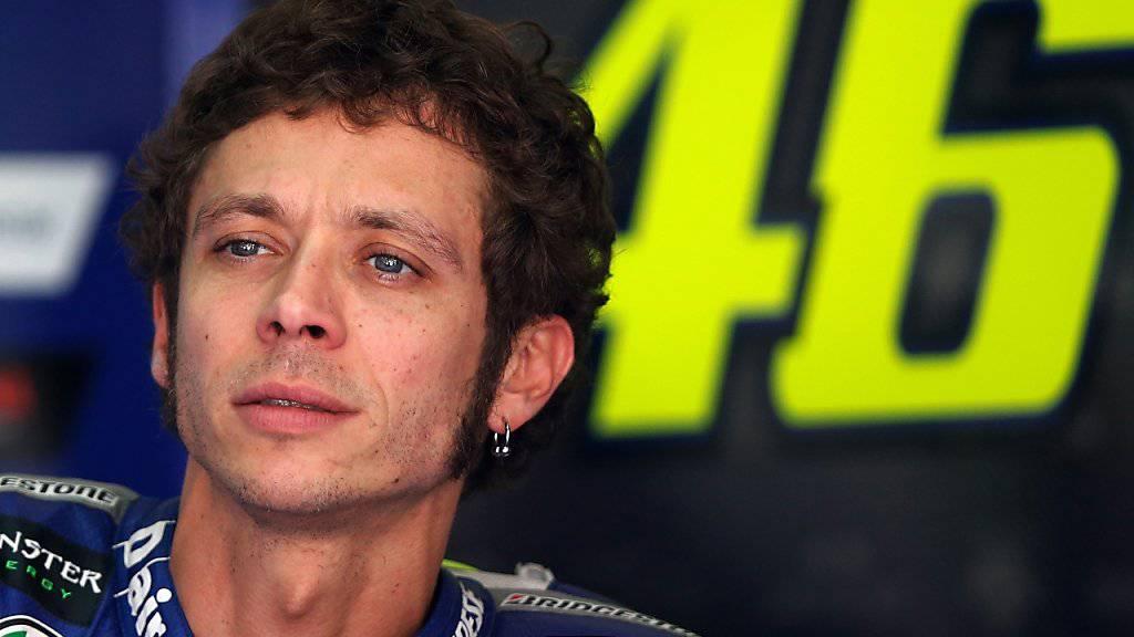 Valentino Rossi vermochte das CAS nicht von seiner Unschuld zu überzeugen