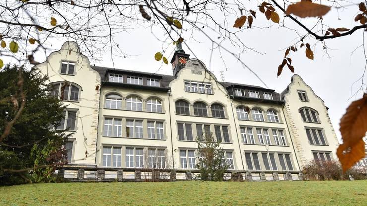 Froheim-Schulhaus in Olten. Hier drücken auch Sek-Schülerinnen und -Schüler aus Starrkirch-Wil die Schulbank.