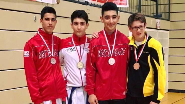 Amir Mneimne (Sportklasse LSF BL), Gewinner im Kumite in der Kategorie U16