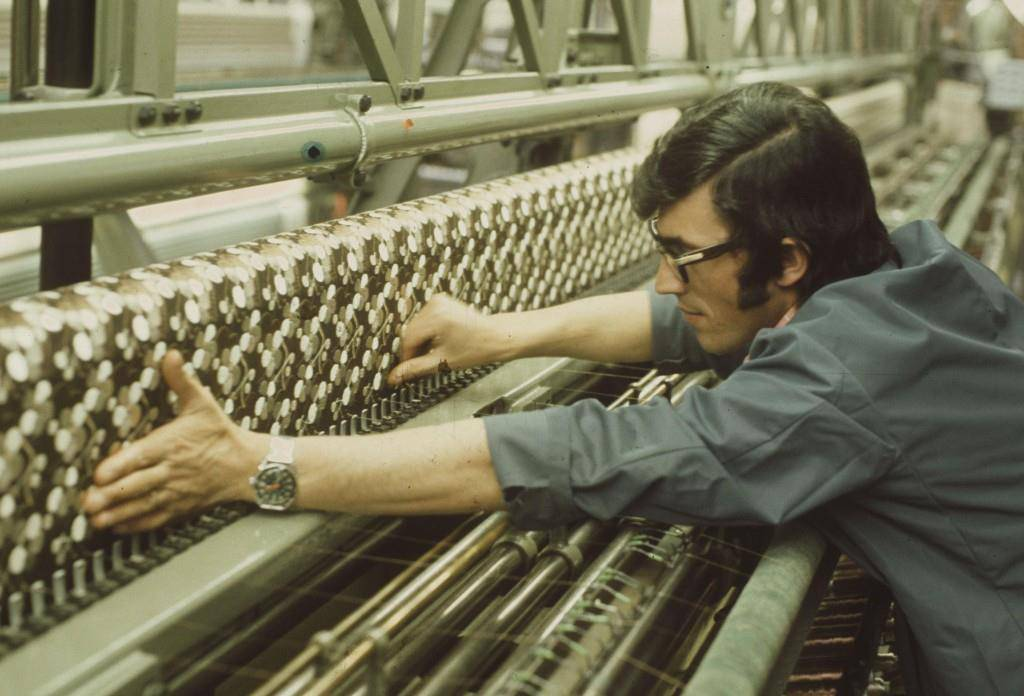 Die St.Galler Textilindustrie in den 70ern und 80ern (© zvg)