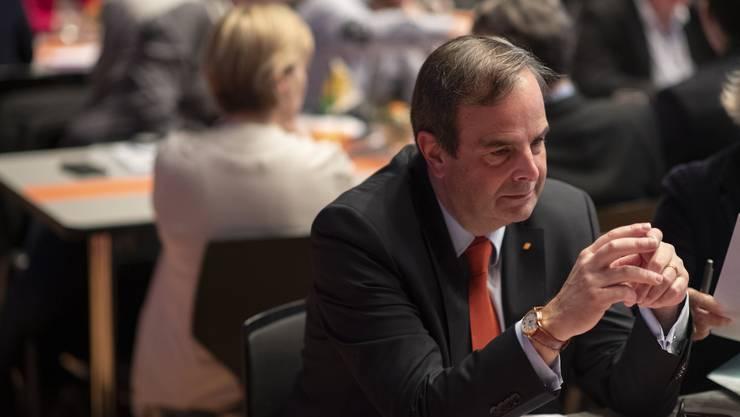 Ob es zu einem Zusammenschluss zwischen CVP und BDP komme, zeichne sich laut Gerhard Pfister bis Ende Jahr ab.