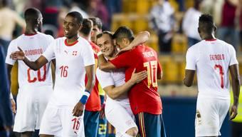 WM-Testspiel Schweiz vs Spanien (1)