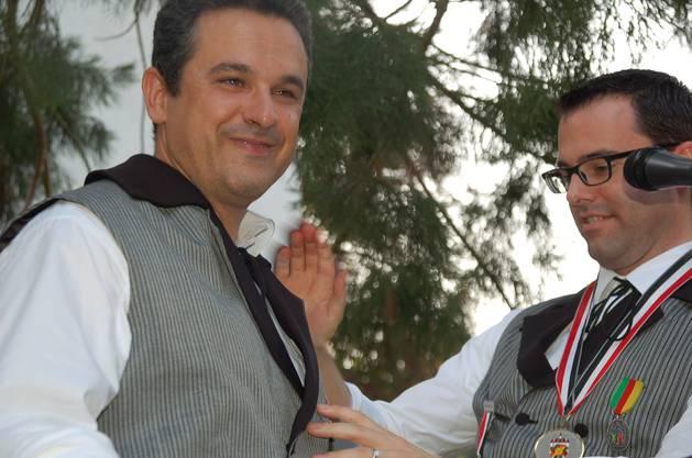 Fernando Garcia wurde am Staatsakt zum Brödlirat ernannt