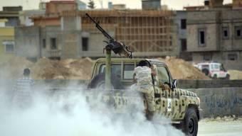 In Libyen haben diverse Milizengrippen die Macht inne (Symbolbild)