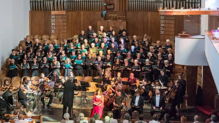 Liessen die Brüder Haydn aufleben: der Oratorienchor Olten, Nova Worb und das Huttwiler Kammerorchester.