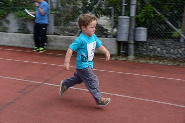 Junger Sprinter