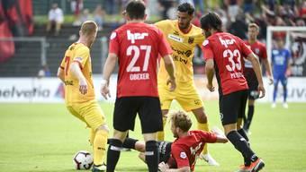 Schweizer Cup: FC Aarau - Xamax (16.09.2018)