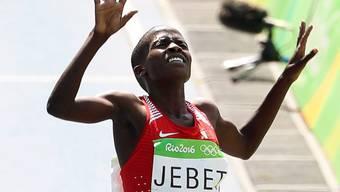 Ruth Jebet stellte einen Fabel-Weltrekord auf (Archivbild)
