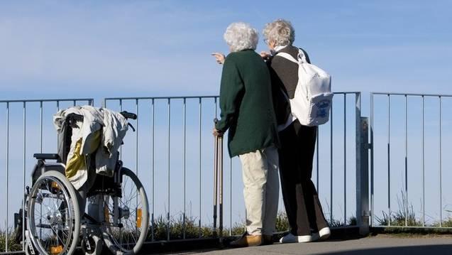Französische Senioren sollen auf ärztliche Anweisung ins Fitnesstraining. (Symbolbild)