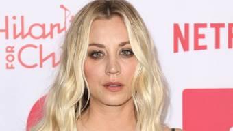 """Kaley Cuoco, die Penny aus """"The Big Bang Theory"""", hat am Wochenende ihren Junggesellinnenabschied gefeiert. (Archivbild)"""