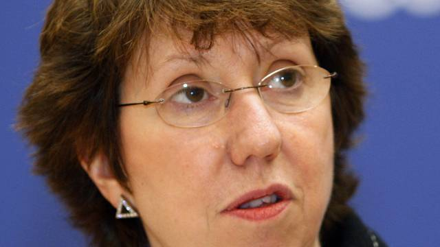 Die EU-Aussenbeauftragte Catherine Ashton (Archiv)