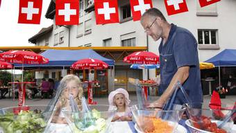 1. August-Brunch in der Solothurner Weststadt