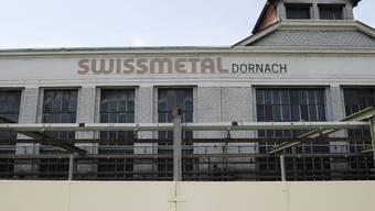 Aussenansicht der Firma Swissmetal in Dornach (Archiv)