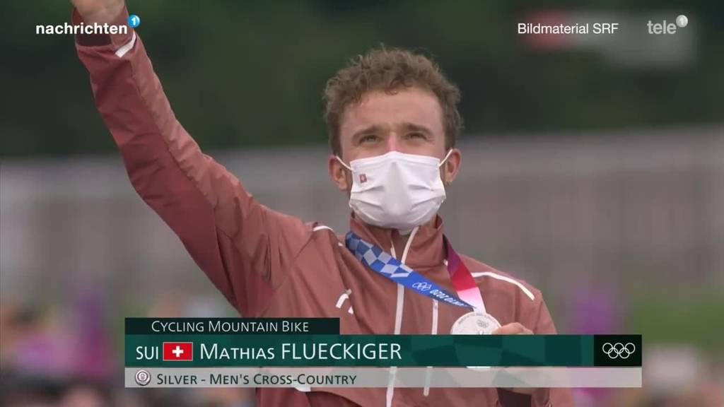 Mountainbiker Matthias Flückiger holt Olympia-Silber