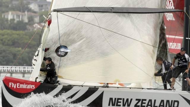 Team New Zealand setzte sich im Final gegen Alinghi durch