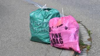 Sammelsäcke Pink Bag Umweltfreunde Plastik-Sammelsack Olten- Collectors - Recycling Umweltschutz Wiederverwertung