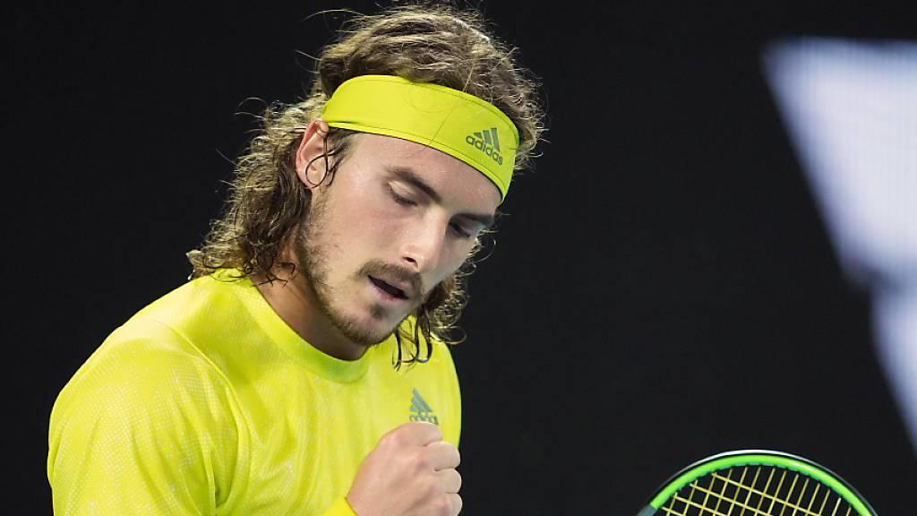 Nadal scheitert nach 2:0-Satzführung an Tsitsipas