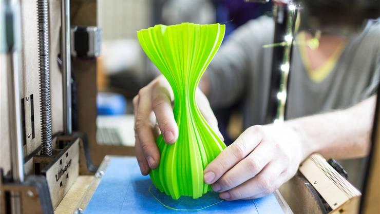 Die 3-D-Drucker sind ein wesentliches Element der Industrie 4.0. (Archivbild)