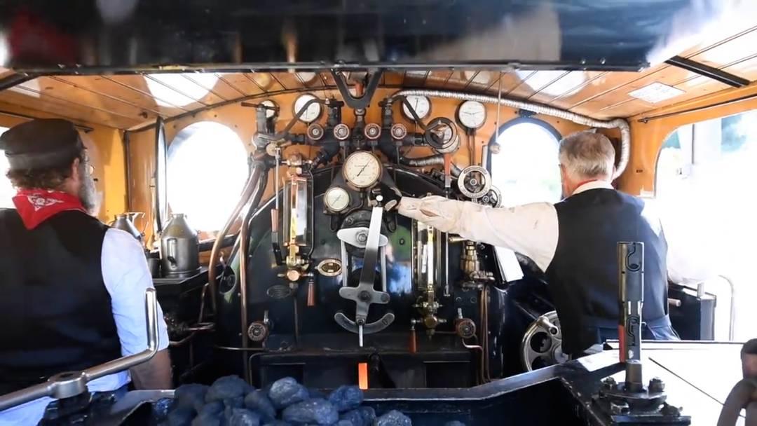 Der Furka-Dampfzug ist wieder in Betrieb