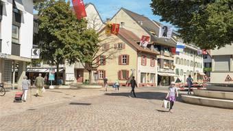 Immer wieder ist Scientology im Stadtkanton präsent – auch auf dem Riehener Dorfplatz.