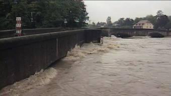 Überschwemmungen Aargau 19. Mai 1994 – Rheinfelden