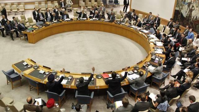 Saal des UNO-Sicherheitsrates in New York