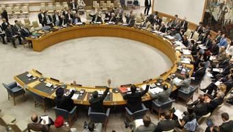 Der Saal des UNO-Sicherheitsrates in New York
