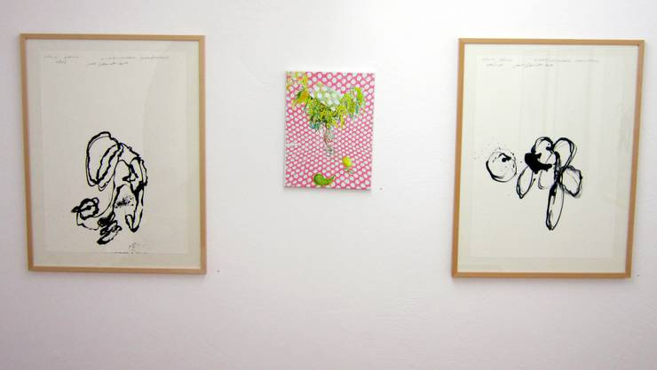 Ausstellung Galerie Rössli Verena Baumann Pavel Schmidt