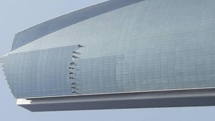 Fensterputzen in Abu Dhabi