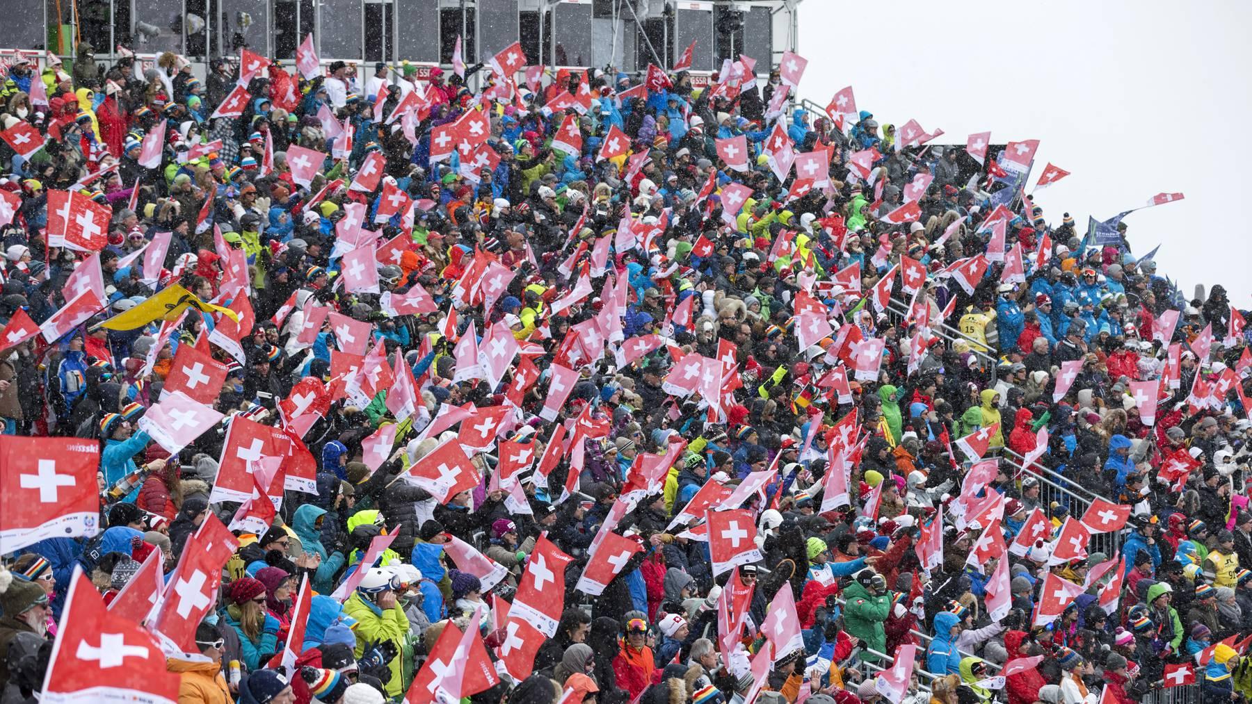 Ski WM Moritz Schweizer Fans