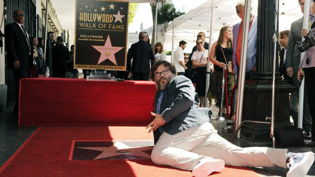 Jack Black erhält einen Hollywood-Stern